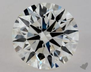 Round 1.14, color I, VVS1  Excellent diamond