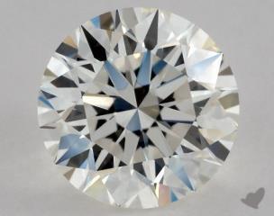 Round 0.90, color I, VVS1  Excellent diamond
