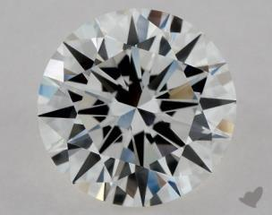 Round 0.90, color G, VVS2  Excellent diamond