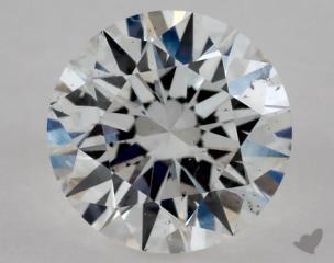 Round 0.91, color D, SI1  Excellent diamond