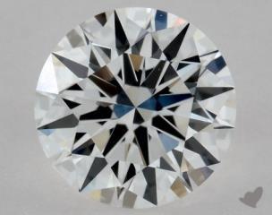 Round 0.62, color D, VS1  Excellent diamond