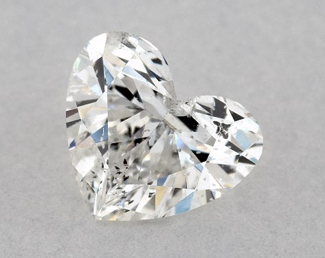 Heart 0.60, color G, I1  Very Good diamond