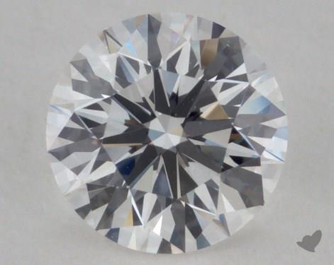 Round 0.55, color F, VVS1  Ideal diamond