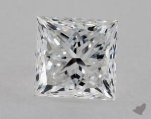 Princess 0.91, color E, VS1  Very Good diamond