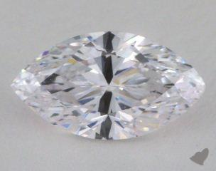 Marquise 2.05, color D, IF  Very Good diamond
