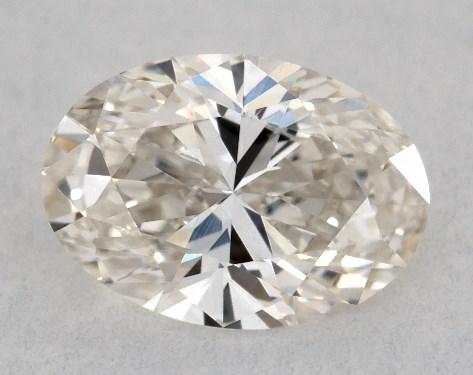 Oval 0.51, color J, VVS2  Very Good diamond