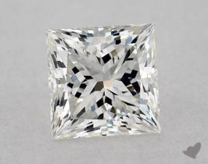 Princess 0.91, color G, VVS2  Very Good diamond