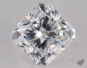 Radiant 4.02, color E, VS2  Very Good diamond
