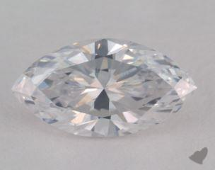 Marquise 2.23, color D, SI2  Very Good diamond
