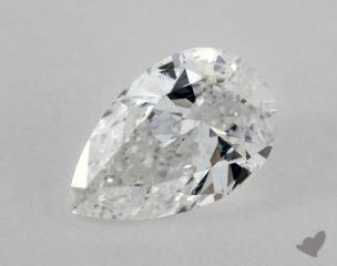 Pear 1.05, color D, SI1  Very Good diamond