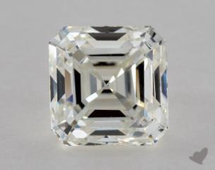 Asscher 1.00, color H, VVS2  Very Good diamond
