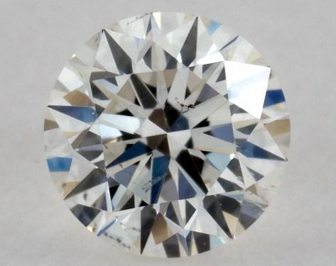 Round 0.23, color I, SI2  Excellent diamond