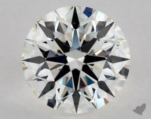 Round 1.31, color I, SI1  Ideal diamond