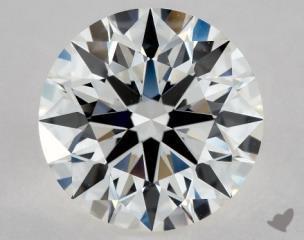 Round 1.30, color G, VS1  Ideal diamond