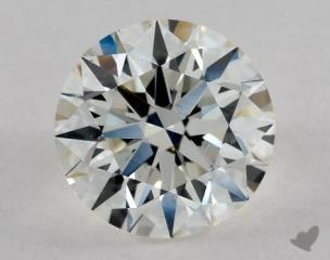 Round 2.07, color I, VS2  Excellent diamond