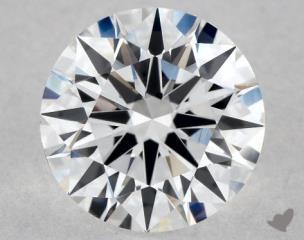 Round 0.91, color D, VVS2  Excellent diamond