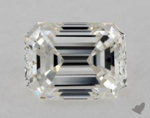 Emerald 0.31, color H, VS1  Good diamond