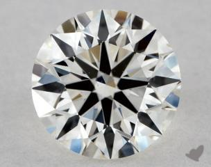 Round 0.92, color I, VS2  Ideal diamond