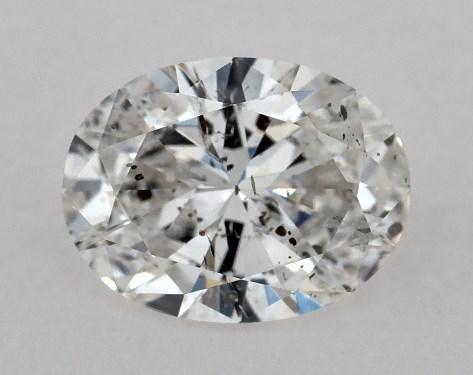 Oval 0.71, color F, I1  Very Good diamond