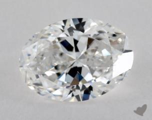 Oval 0.80, color E, VS1  Very Good diamond