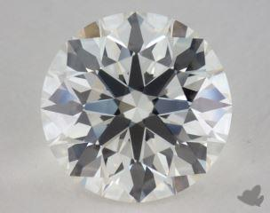 Round 3.03, color H, IF  Excellent diamond