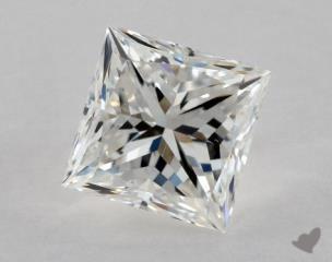 Princess 0.88, color G, VS2  Very Good diamond