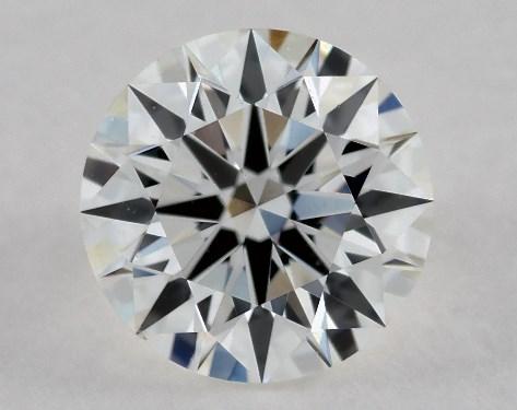 Round 0.49, color F, VS1  Ideal diamond