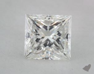 Princess 0.74, color G, VVS1  Very Good diamond