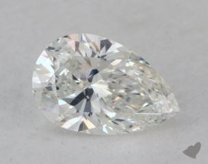 Pear 0.80, color G, VVS1  Very Good diamond