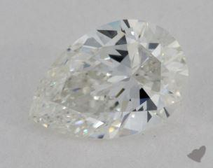 Pear 0.98, color G, VVS1  Very Good diamond
