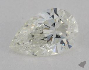 Pear 0.97, color I, VS1  Ideal diamond