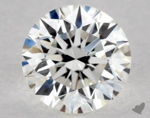 Round 0.74, color G, VVS2  Excellent diamond
