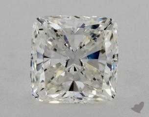 Cushion 2.51, color H, VS1  Very Good diamond