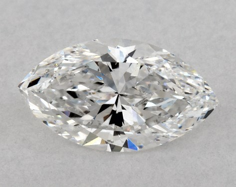 Marquise 0.58, color E, SI1  Very Good diamond