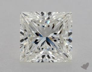Princess 1.22, color H, VS1  Ideal diamond