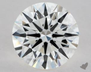 Round 0.80, color I, VVS2  Excellent diamond