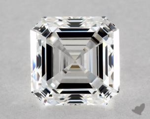 Asscher 1.00, color E, VS1  Very Good diamond