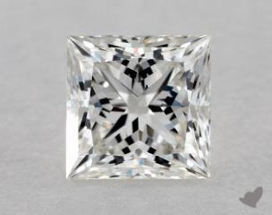 Princess 1.01, color H, VS2  Ideal diamond