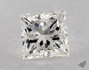 Princess 0.72, color H, VS2  Ideal diamond