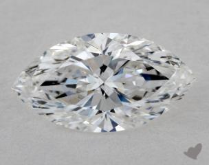 Marquise 1.05, color E, SI1  Very Good diamond