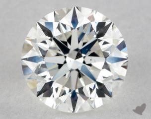 Round 1.02, color H, SI1  Very Good diamond