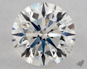 Round 1.00, color H, SI1  Good diamond
