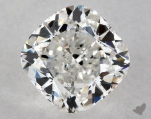 Cushion 1.00, color G, SI1  Ideal diamond