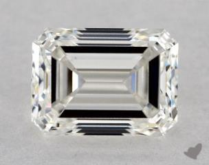 Emerald 1.01, color H, VS1  Good diamond