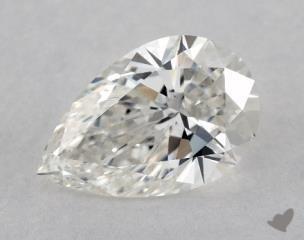 Pear 1.71, color H, SI1  Ideal diamond