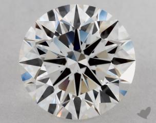 Round 2.02, color E, VS1  Excellent diamond