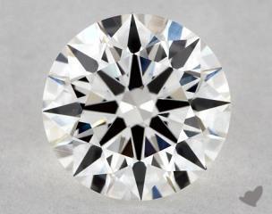 Round 1.01, color F, VS1  Ideal diamond