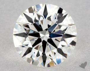 Round 0.71, color H, VS1  Ideal diamond
