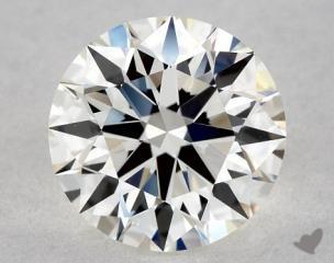 Round 0.70, color H, VS1  Ideal diamond