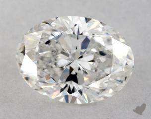 Oval 0.91, color E, VVS2  Very Good diamond